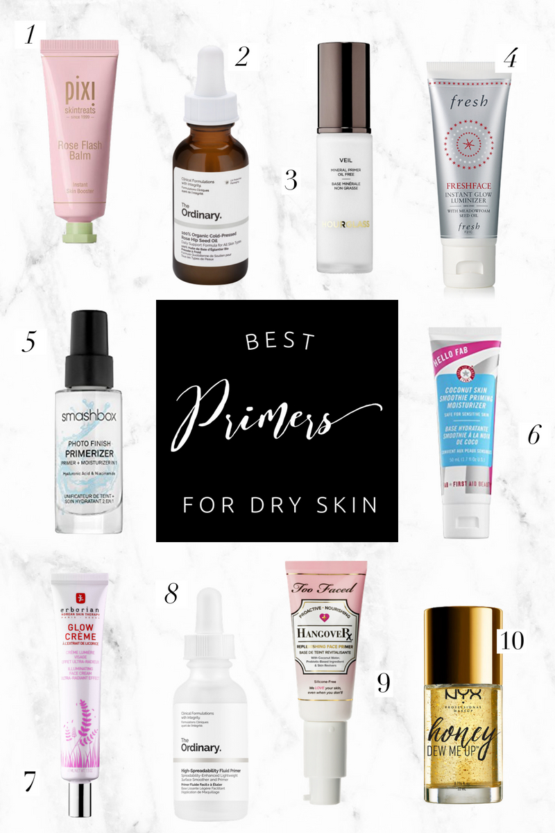Best Primers for Dry Skin | Twinspiration