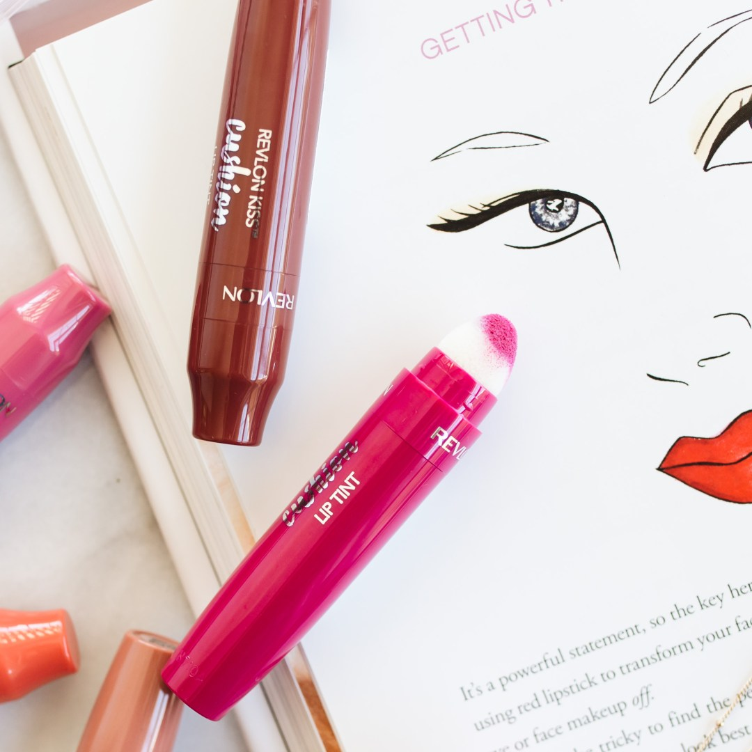 Revlon Kiss Cushion Lip Tint Review + Swatches