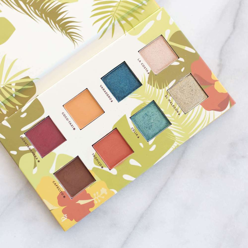 Alamar Cosmetics Reina Del Caribe Vol. 1 Palette Review + Swatches | Twinspiration