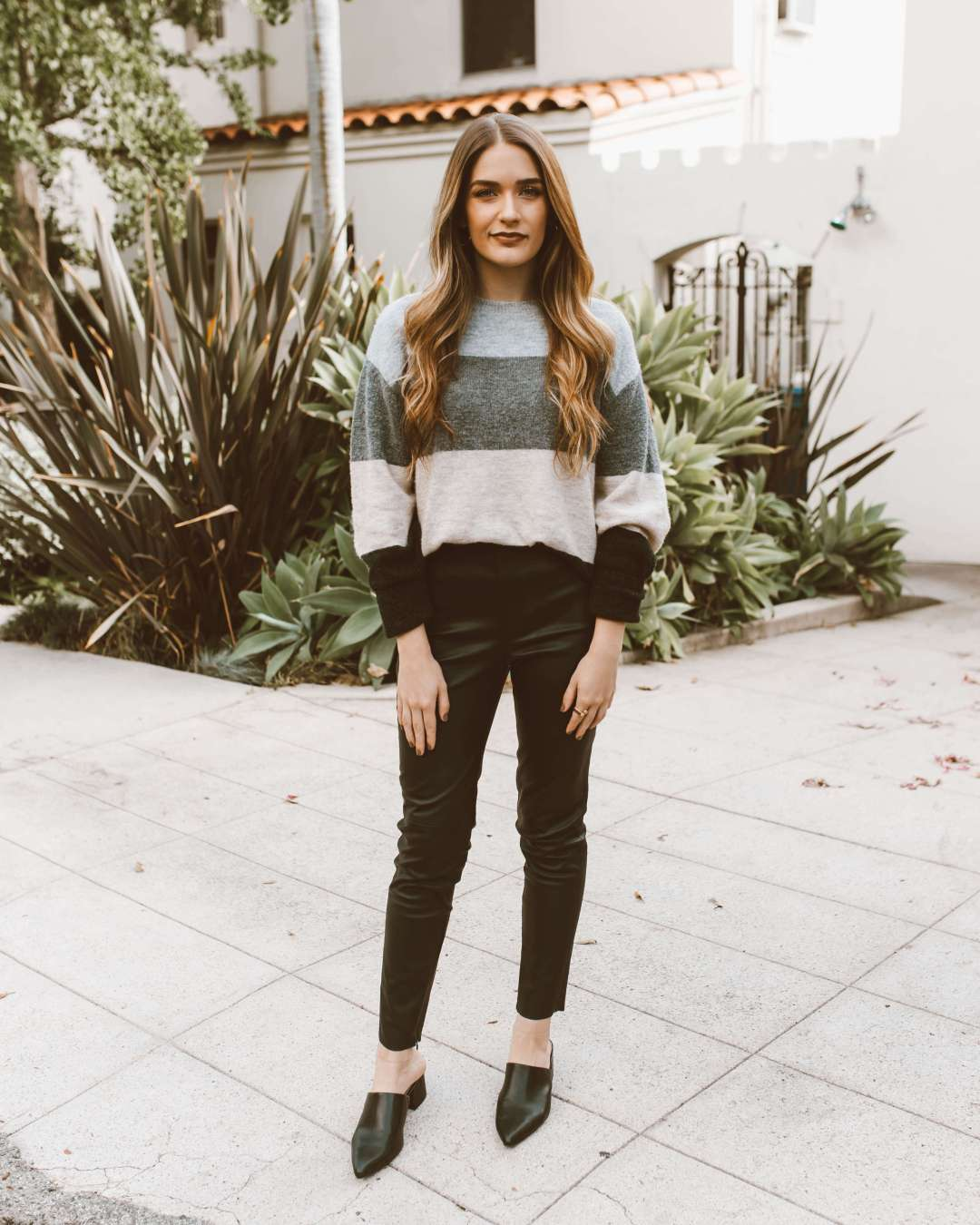 One Piece, Two Ways: Striped Sweater | Twinspiration