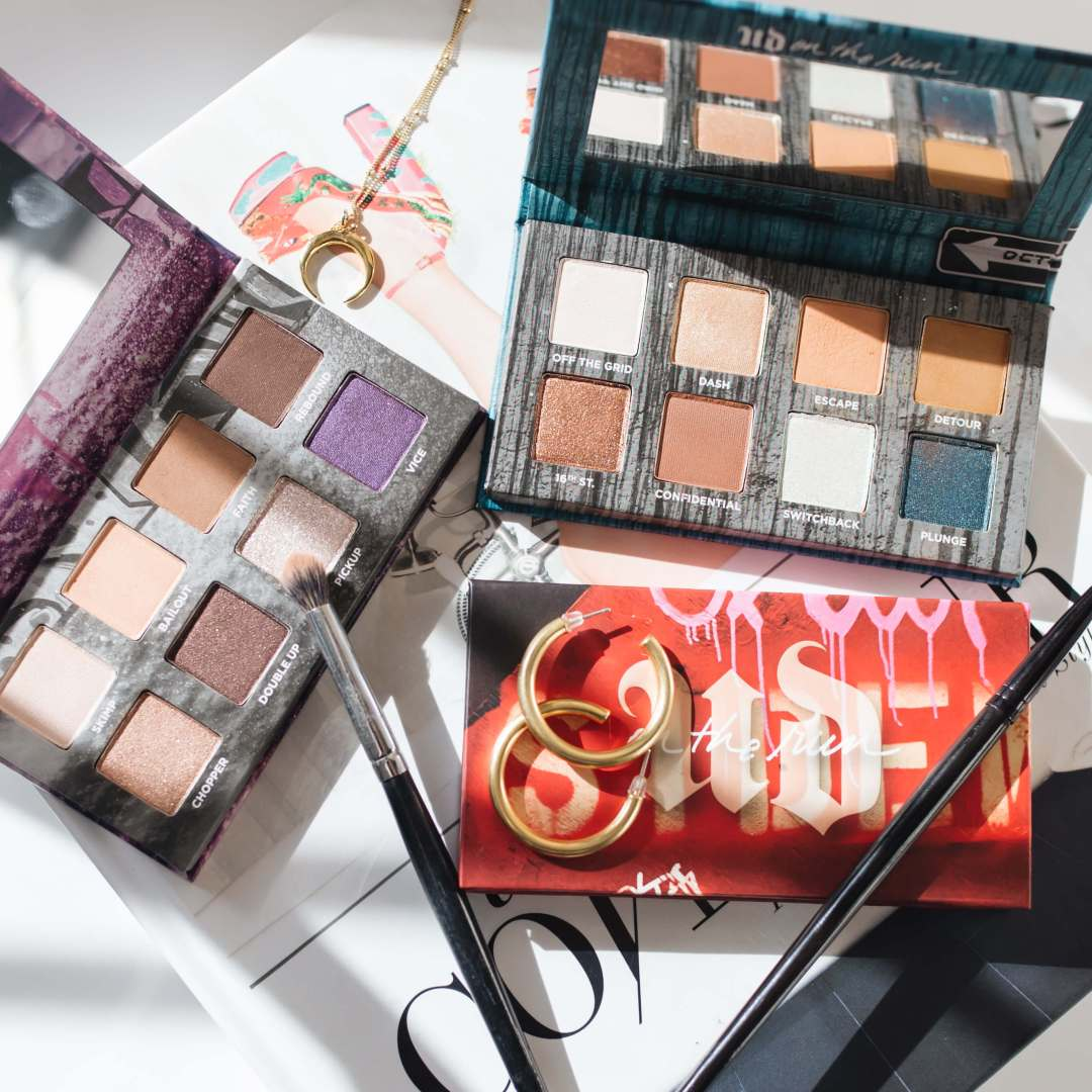 Urban Decay On The Run Eyeshadow Palettes Review + Swatches