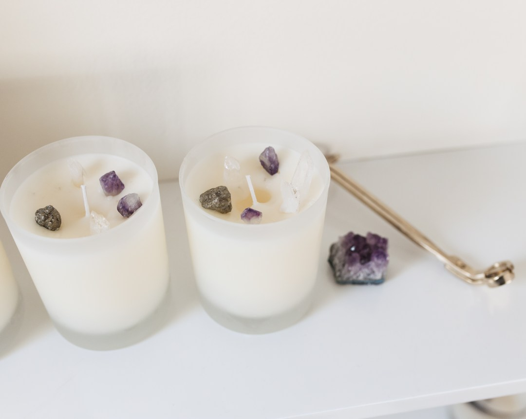 DIY Hidden Gem Candles | Twinspiration