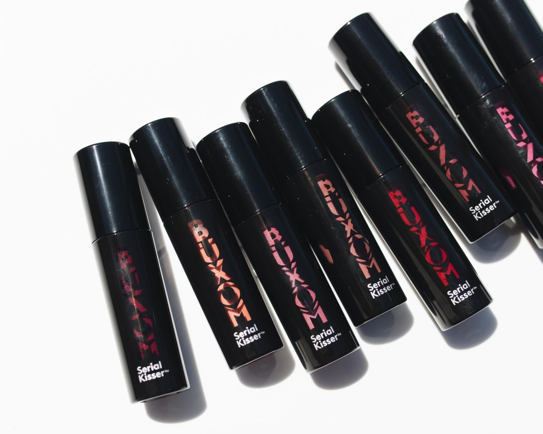 Buxom Serial Kisser Plumping Lip Stain Swatches + Review