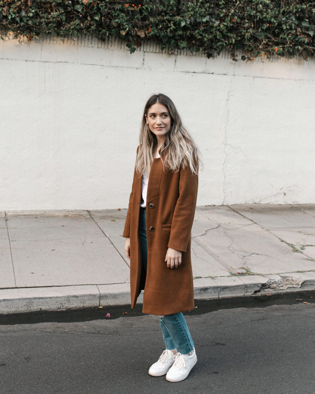 Casual Camel Coat Style | Twinspiration