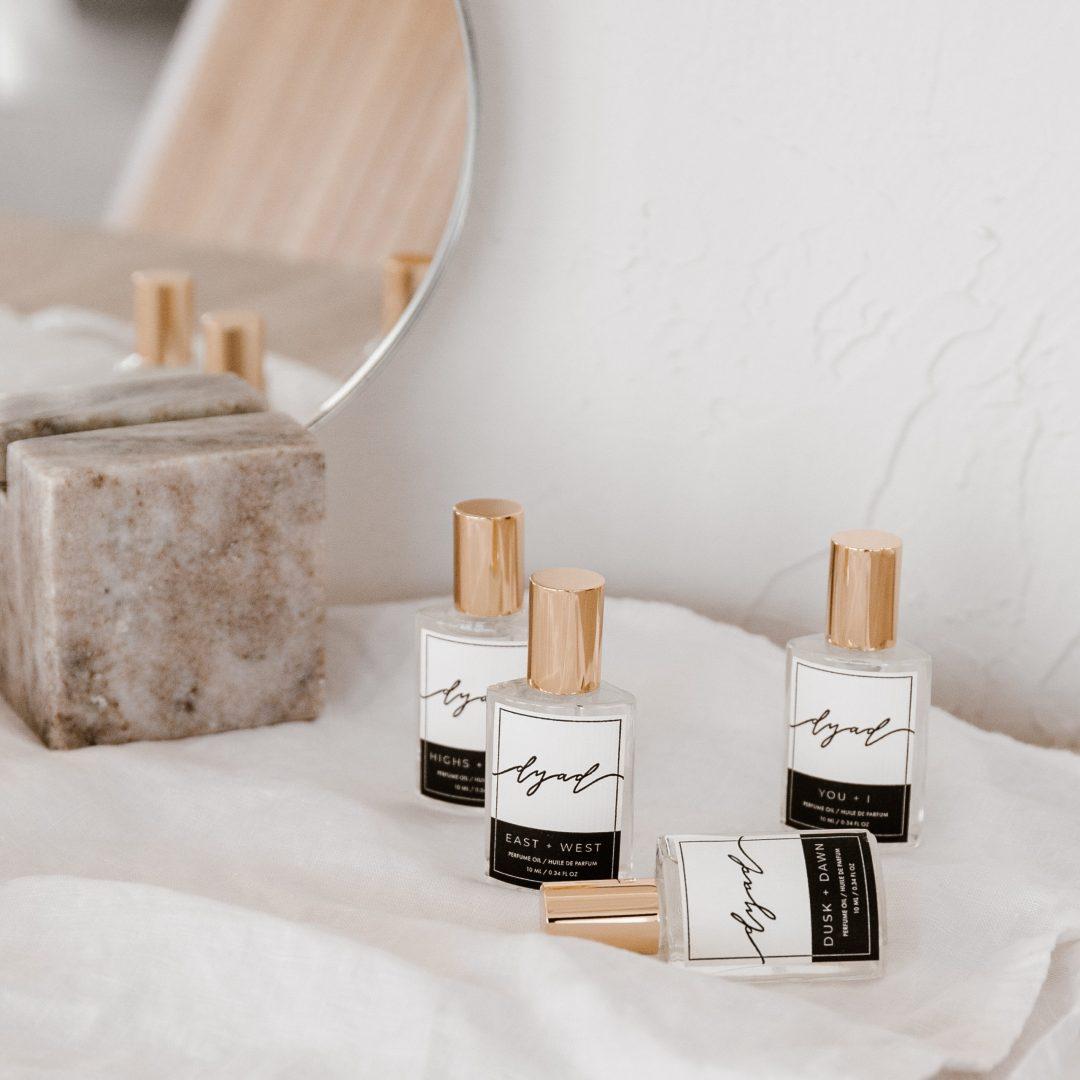 Dyad Perfume Oils Launch | Twinspiration
