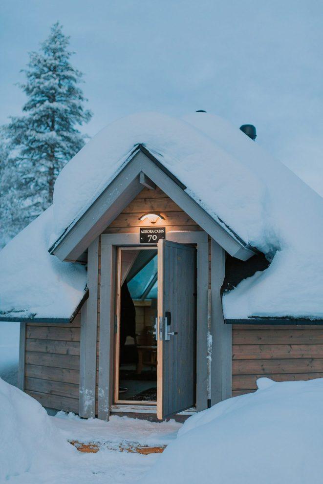 aurora cabins finland