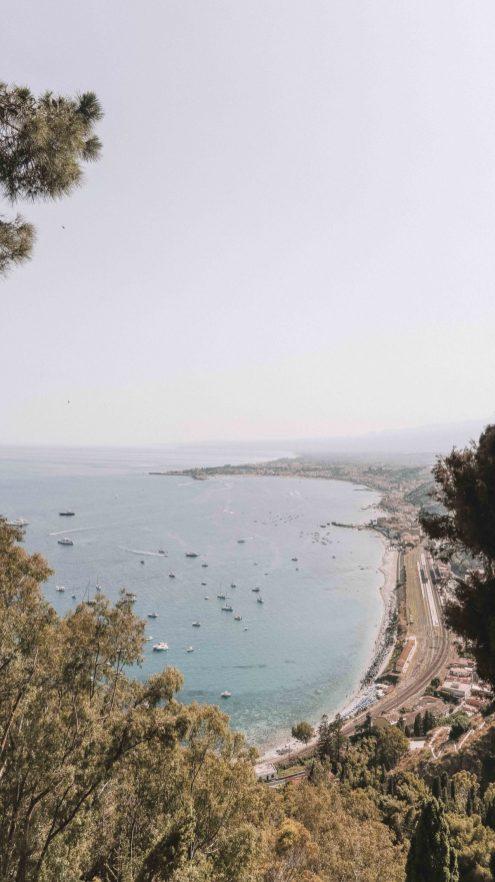 gardens in Taormina