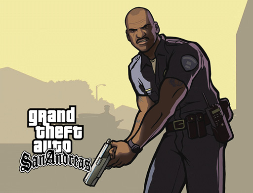Samuel L. as Officer Tenpenny of the LSPD is the most memorable baddie the series has seen so far.