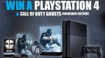 WIN A PLAYSTATION 4 AND CALL OF DUTY:GHOSTS!