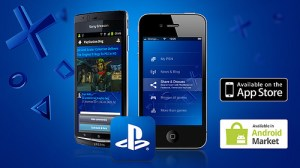 Playstation app is available on Android and iPhone