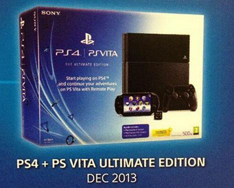 PS4 and Vita Bundle