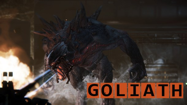 Evolve- Goliath-name