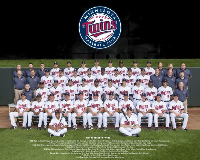 2014 Minnesota Twins Team Photo