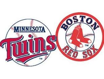 Twins versus Red Sox
