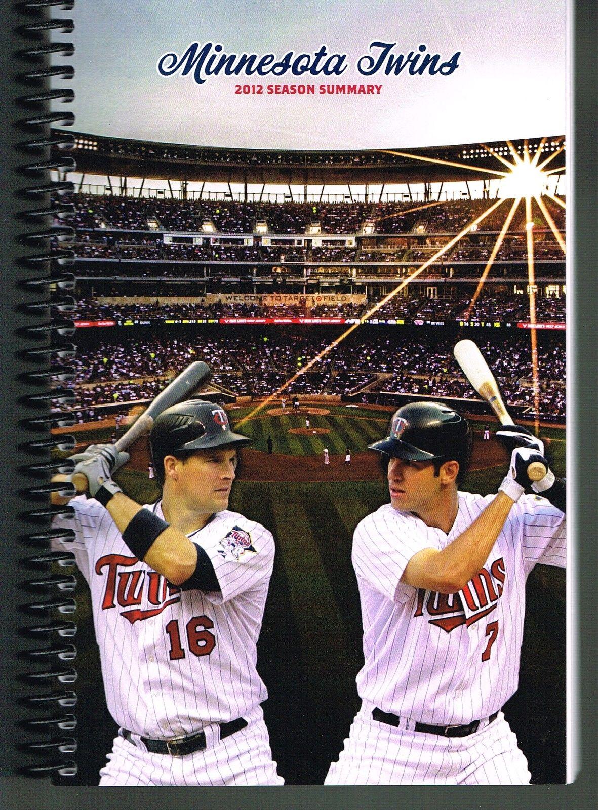 2012 Twins Season Summary Media Guide