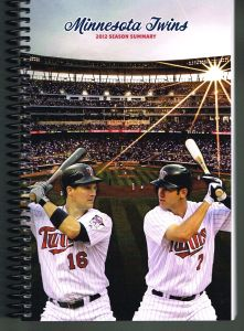 2012 Twins Season Summary Media Guide