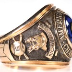 1965 American League championship ring Naragon side 1