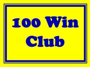 100 wins
