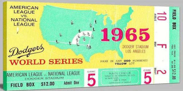 1965 World Series game 5