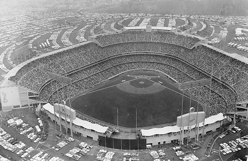 Dodger Stadium 1965 World Series