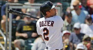 Brian Dozier homers