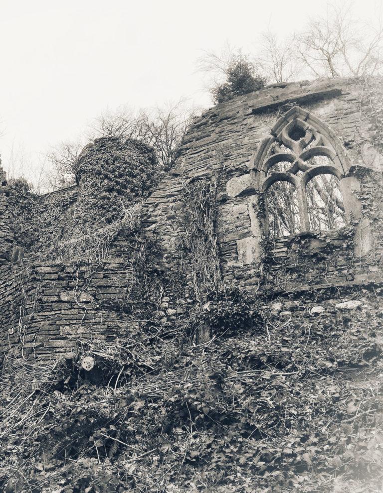 Sham Castle & Gothic Ruin at Heywood Gardens, Ballinakill.