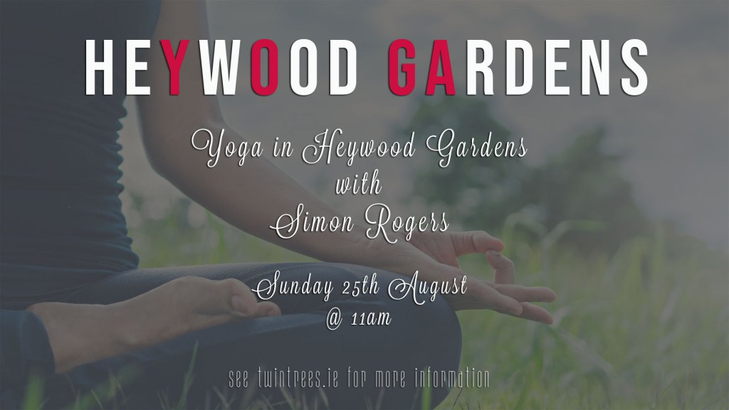 Yoga in Heywood Gardens
