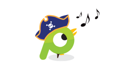 talk like a pirate on social media