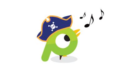 talk like a pirate on social media