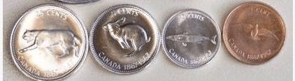 Alex Colville coins