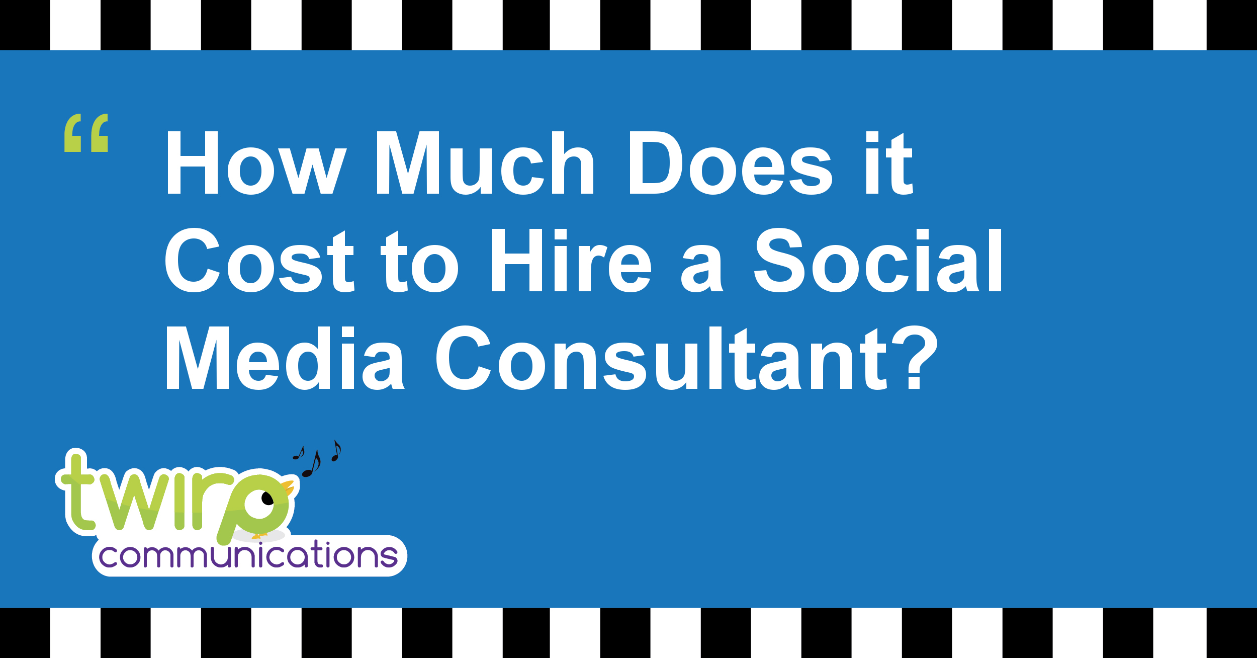 How Much Does it Cost to Hire a Social Media Consultant