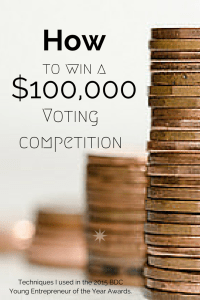 social media voting compeitition