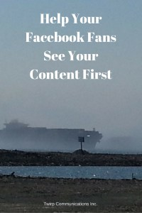 Help Your Facebook FansSee Your Content