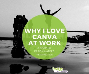 Canva at work