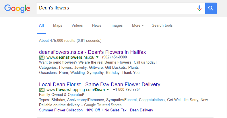 SEO Tips for local businesses | Dean's Flowers