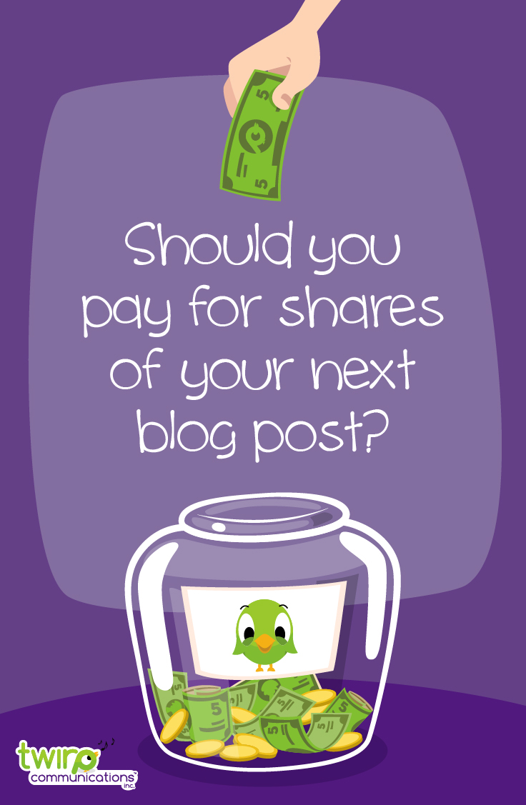 Should you pay a service to help you promote your blog post? I tested two blog promotion programs, Quuu and DrumUp. Click here to see which one performed best.