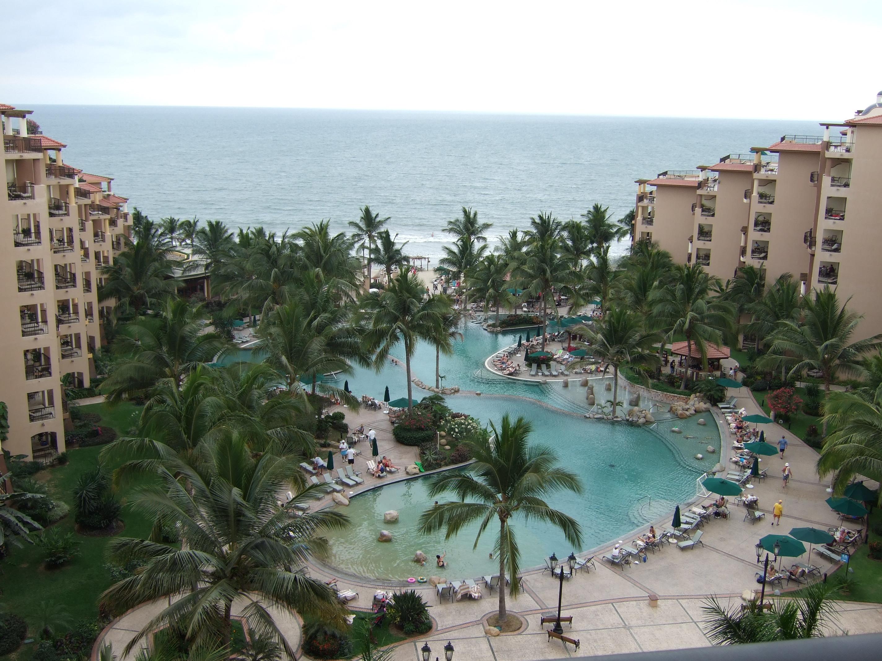ocean view from 8th floor
