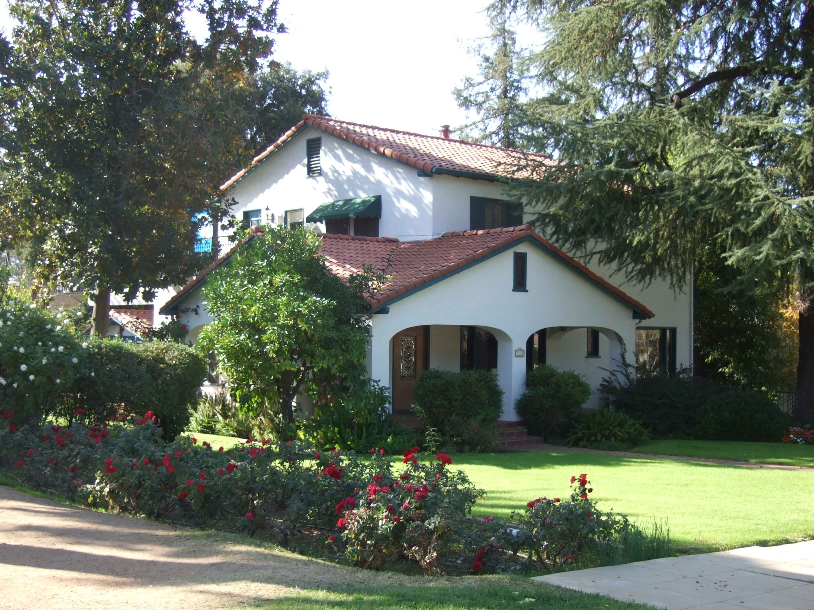 1920's Spanish Revival house