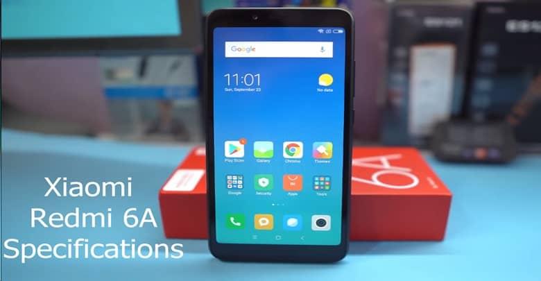 Xiaomi Redmi 6 A Smartphone Features