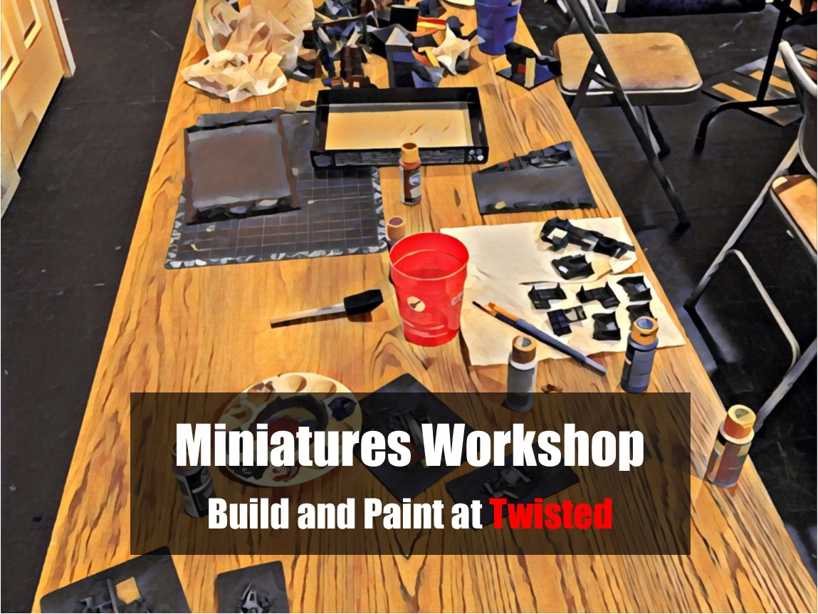 Miniatures Workshop with the Nocturnes Gaming Guild