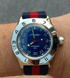 Vostok Amphibia GMT