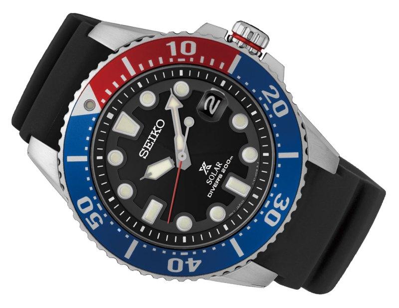Seiko Prospex Solar Diver's Watch