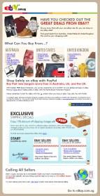 EDM design for eBay - International Sellers
