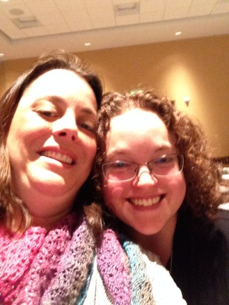 Superfan selfie! Me and Laurel from the Web-sters in OR