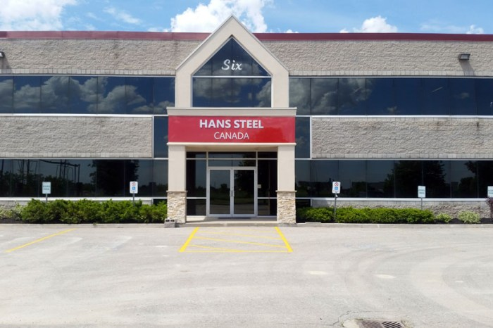 Hans Steel Canada, Stouffville, ON