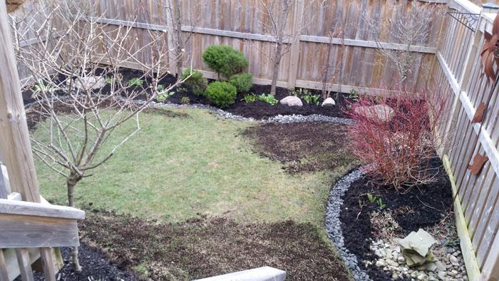 garden renovations, stepping stones & lawn repair