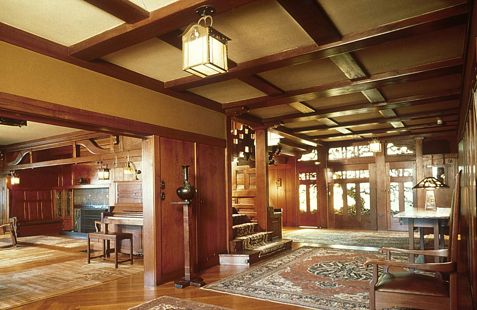 Gamble House Interior .