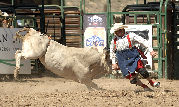 Twisted Rodeo Bullfighters Tackle Many Tasks At Rodeo