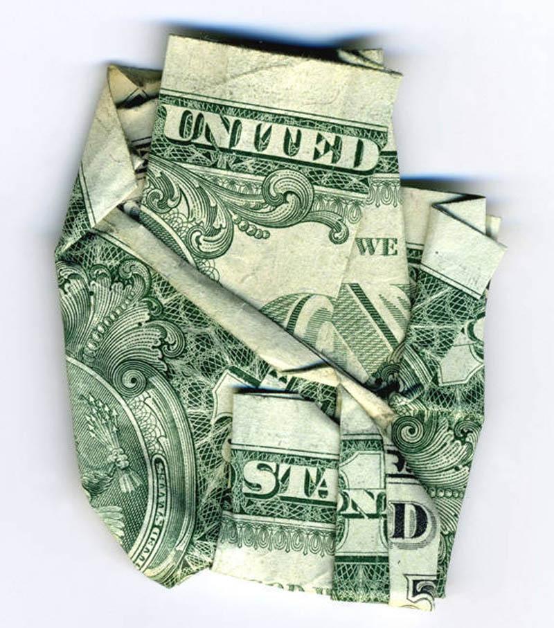 Money Dollar Bills Art
