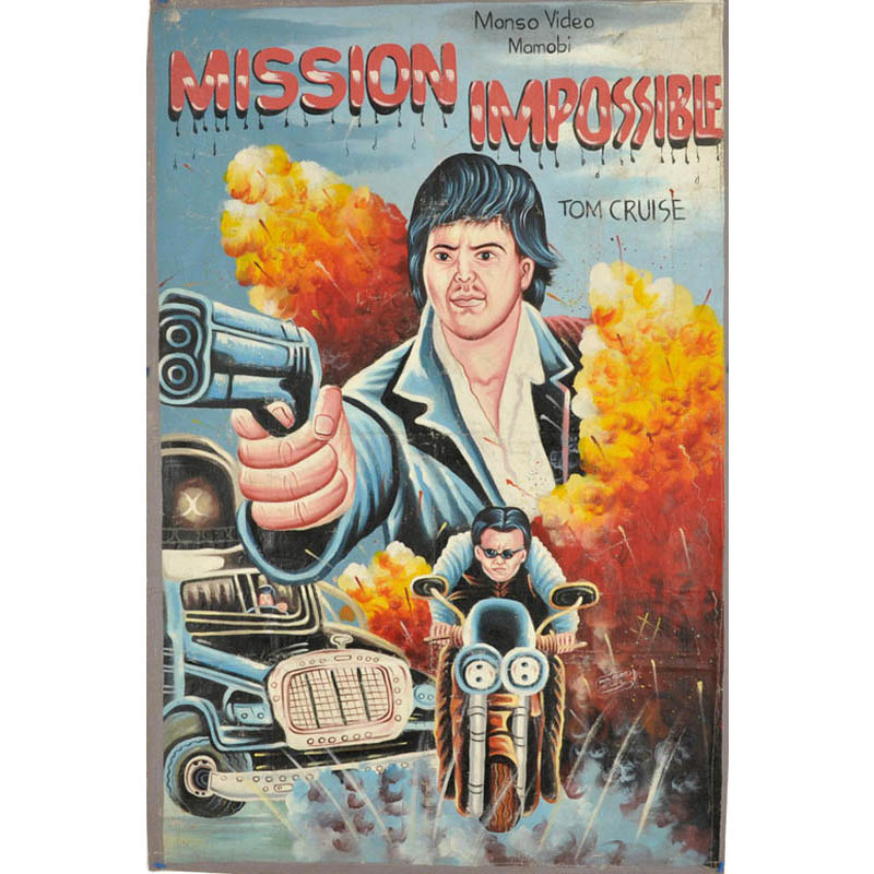 Bootleg Movie Posters from Ghana TwistedSifter